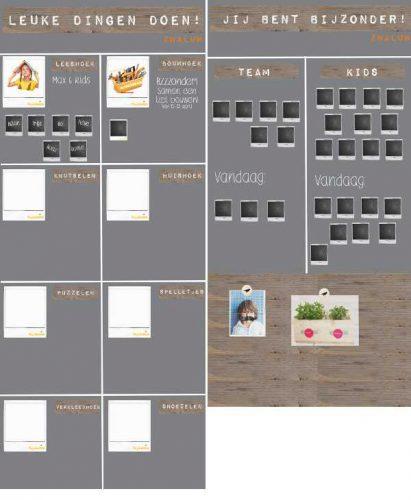 Activiteitenplanner BSO magneetprikbord