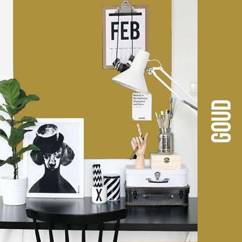 magneet krijtbordbehang luxe goud