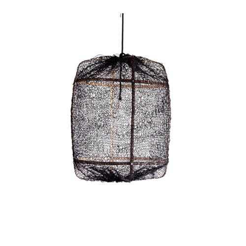 Hanglamp ay illuminate M- ZWART sisal