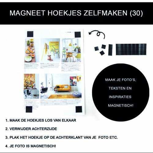 Magneet hoekjes ZELFMAKEN (30)