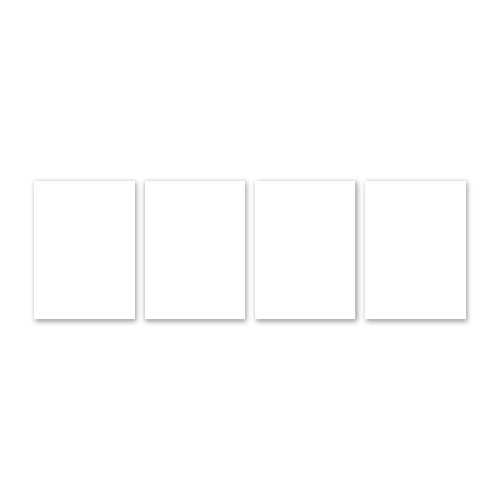 Magneet whiteboardjes MAGNETISCH BLANCO wit (4)