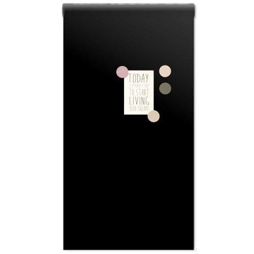 Magneetbehang_zwart+magneten