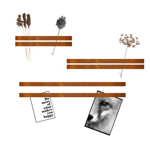 Magneetstrip_Leer_Cognac_lijst