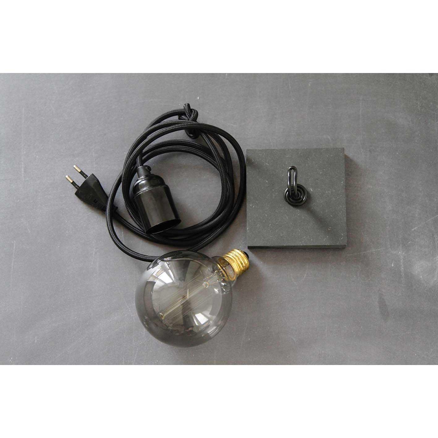 Magnetische bollamp ZWART