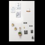 Magneetwand Ral9010