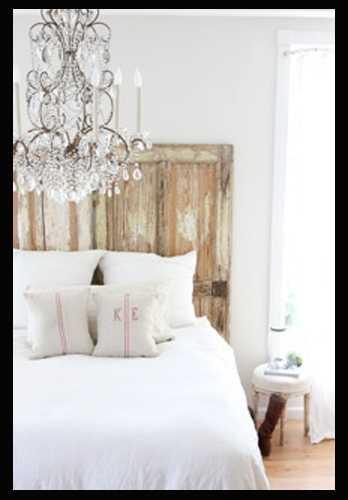 achterwand pallets bed