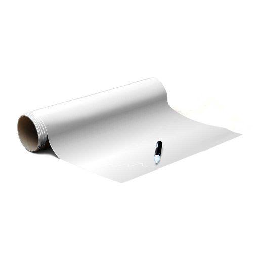 Magneetbehang mat - krijtbord wit rol