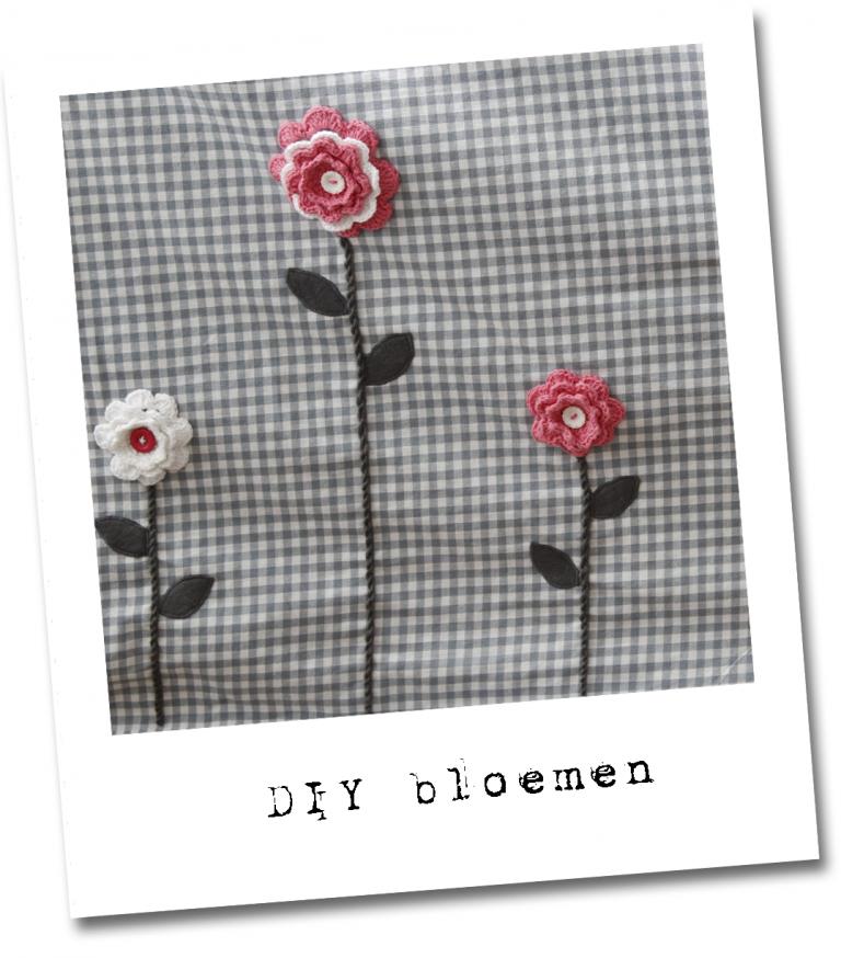 Tafeltent bloemen die