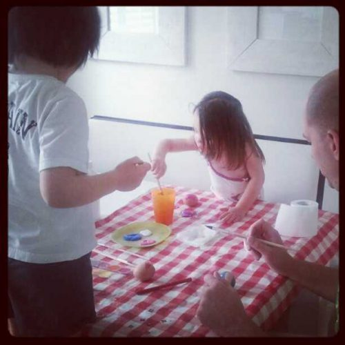 family paaseieren schilderen