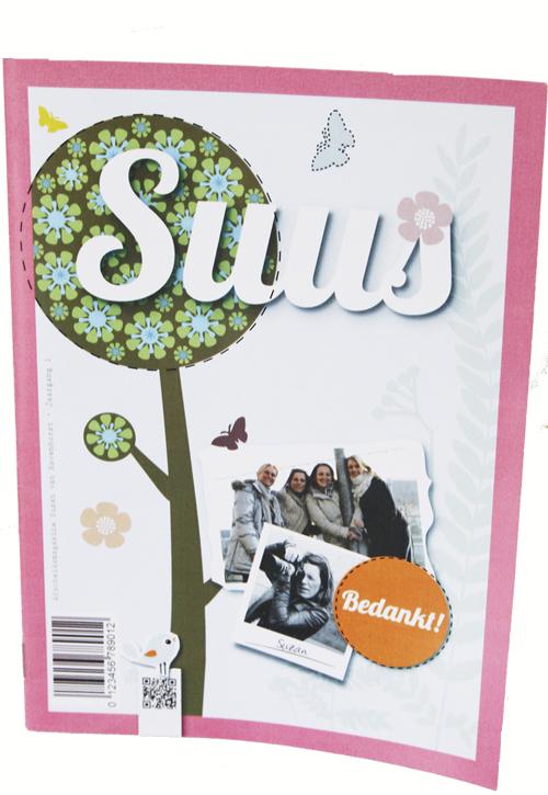 Magazine a la Flow afscheidsmagazine