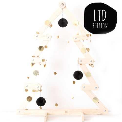 kerstboom houten latjes