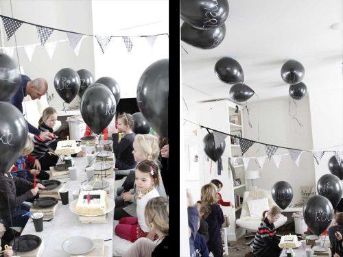 kidsfeestje ballonnen