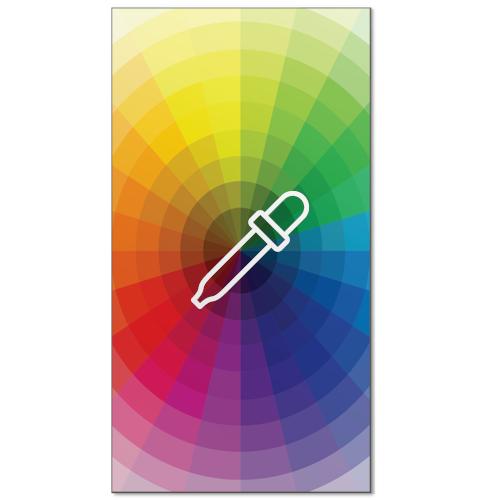 magneetwhiteboard eigenkleur