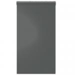 Magneetbehang glossy - whiteboard donkergrijs rol