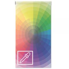 Magneet whiteboardbehang eigen kleur