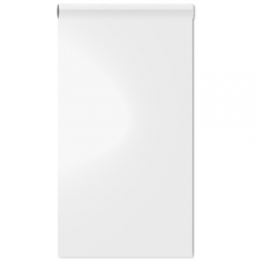 Magneet whiteboardbehang wit