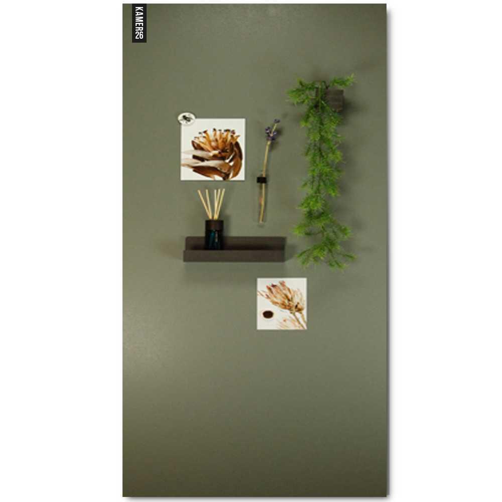 magneetbord_olijfgroen+magneten