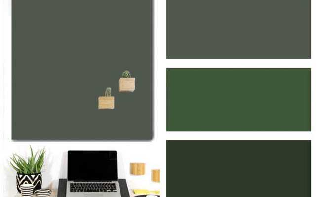 magneetborden kleur wild green