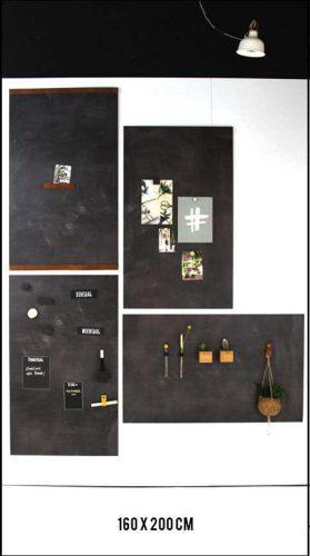 magneetwand zwart