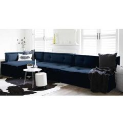 matraskussens lounge bankopstelling 1 DENIM