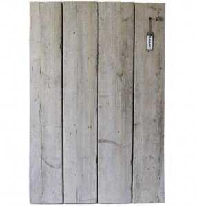 prikbord sloophout rechthoek