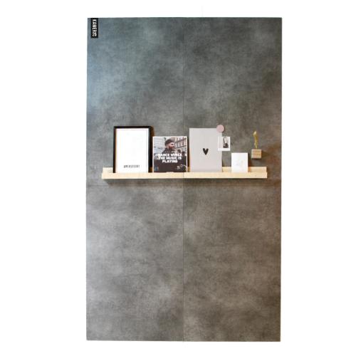 Magneetwand betongrijs
