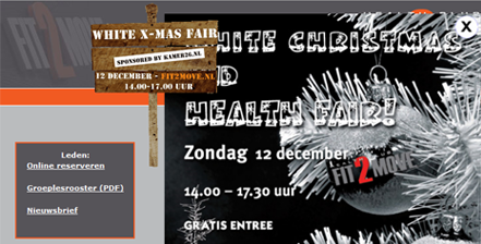 White X-mas fair